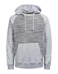 Jack And Jones Jormelrose Hooded Cotton Sweater Total Eclipse