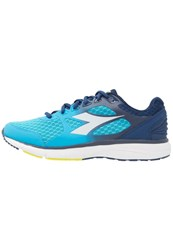 Diadora Run505 Neutral Running Shoes Blue Fluo White