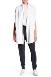 Grey State Cocoon Wrap White