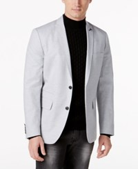 Inc International Concepts Men's Austin Slim Fit Blazer Only At Macy's Light Grey