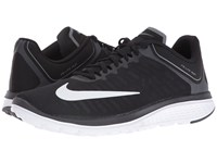 Nike Fs Lite Run 4 Black White Anthracite Charcoal Grey Men's Running Shoes