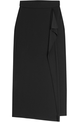 Dkny Maxi Skirt With Ruffle