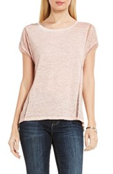 Vince Camuto Women's Two By Linen Tee