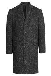 Joseph Coat With Wool And Alpaca Grey