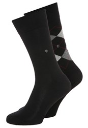 Burlington 2 Pack Socks Black