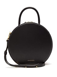Mansur Gavriel Circle Leather Cross Body Bag Black