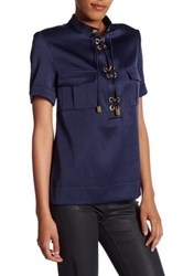 Finders Keepers Great Heights Shirt Blue