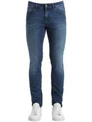 Unlimited 17Cm Stone Washed Denim Jeans Blue