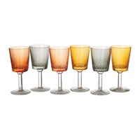 Pols Potten Library Wine Glasses Set Of 6