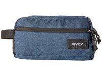 Rvca Travel Kit Navy Heather Backpack Bags Gray