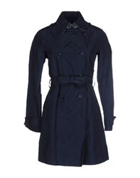 Aquarama Coats And Jackets Full Length Jackets Women Dark Blue