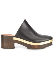 Rosetta Getty 'Clog' Mules Black
