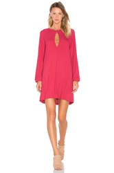 The Fifth Label Animated People Dress Fuchsia
