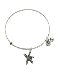 Alex And Ani Starfish Bangle Rafaelian Silver