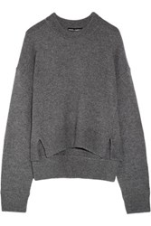 Dolce And Gabbana Cashmere Sweater Anthracite