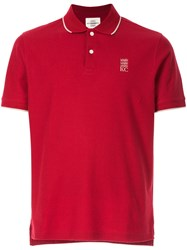 Kent And Curwen Classic Polo Shirt Red