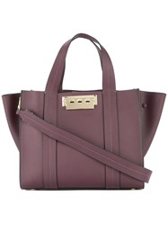 Zac Posen Eartha Iconic Small Shopper Tote Pink And Purple