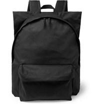 Raf Simons Eastpak Printed Shell And Cotton Canvas Backpack Black