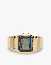 Timex Classic Digital In Gold
