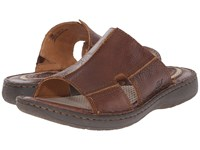 Born Jared Cymbal Full Grain Leather Men's Sandals Brown