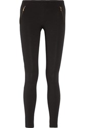 Emilio Pucci Stretch Cady Leggings Black