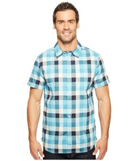 The North Face Short Sleeve Road Trip Shirt Vintage White Plaid Men's Short Sleeve Button Up Multi