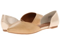 Bc Footwear Up All Night Vacchetta Silver Women's Flat Shoes Beige