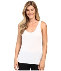 Jockey Elance Supersoft Classic Fit V Neck Tank Top White Women's Underwear