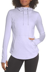 Zella Recycled Perfect Layer Hoodie Purple Thistle