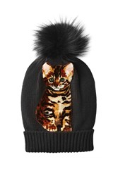 Dolce And Gabbana Cashmere Hat With Fox Fur