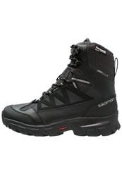 Salomon Chalten Ts Cswp Winter Boots Black Asphalt Pewter