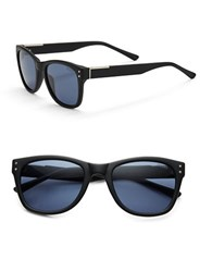 Guess Matte Wayfarer 70Mm Square Sunglasses Black