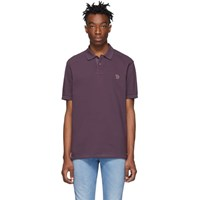 Paul Smith Ps By Purple Zebra Polo