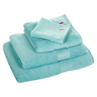 Ralph Lauren Home Player Towel Aqua Blue