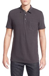 Ag Jeans Men's Ag 'Cliff' Pique Polo Shark Gray