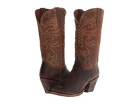 Lucchese M4651 Peanut Brittle Distressed Cowboy Boots Brown