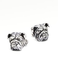 Stephen Webster Silver Bulldog Cuff Links