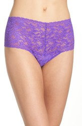 Hanky Panky Women's 'Retro' Thong Royal Purple