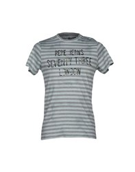 Pepe Jeans 73 Topwear T Shirts Men Grey