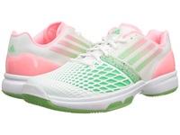Adidas Cc Adizero Tempaia Iii White Light Flash Red Light Flash Green Women's Tennis Shoes