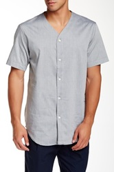 Shades Of Grey Baseball Shirt Gray