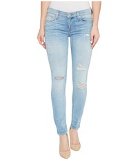 Hudson Krista Ankle Super Skinny Five Pocket Jeans In Karma Karma Women's Jeans Red