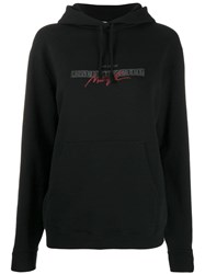 Saint Laurent Call Me After Midnight Hoodie Black