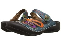 Spring Step Copa Blue Women's Shoes