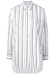 Paul Smith Ps By Striped Shirt White