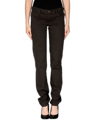 Yes London Casual Pants Dark Brown
