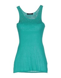 Guess By Marciano Topwear Vests Women Green