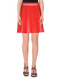 Tommy Hilfiger Skirts Mini Skirts Women Red