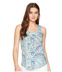 Aventura Clothing Element Tank Top Blue Indigo Sleeveless