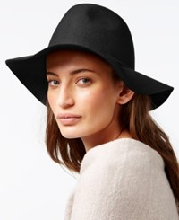 Nine West Felt Pinched Crown Floppy Hat